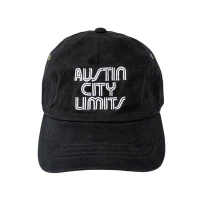 Austin City Limits Black Cotton Hat
