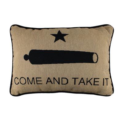 Gonzales Flag Accent Pillow