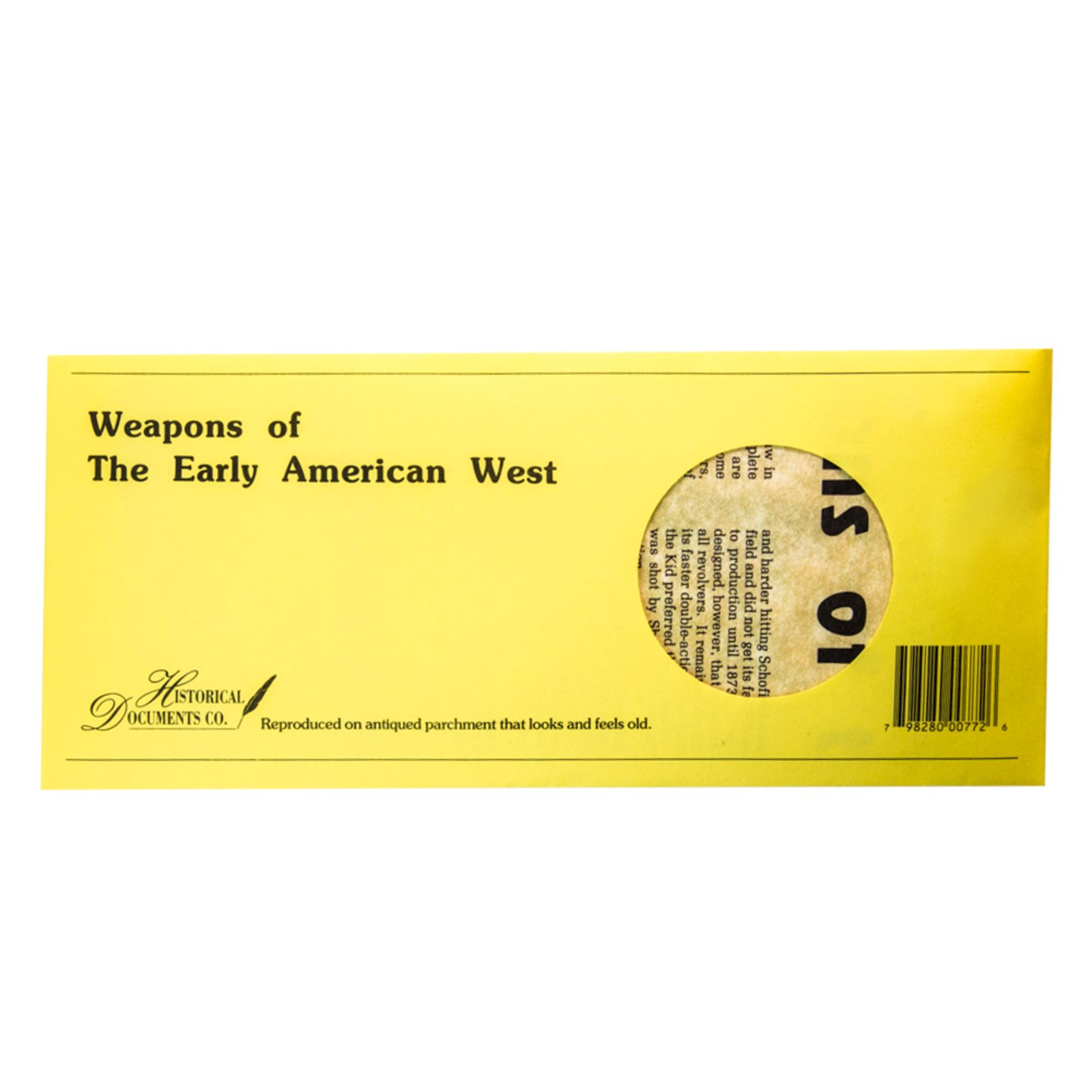 Weapons of the Early American West