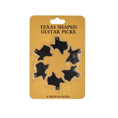 Texas Shaped Guitar Picks