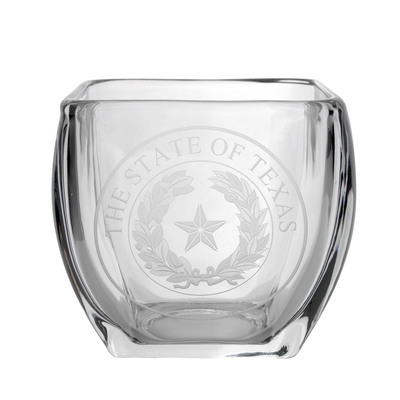 Texas State Seal Glass Keepsake