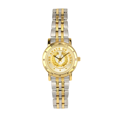 Texas State Seal Two-Tone Small Watch