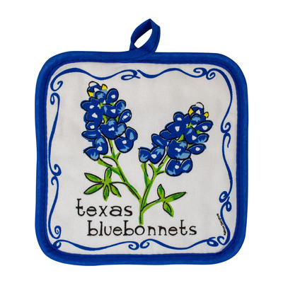 Bluebonnet Pot Holder