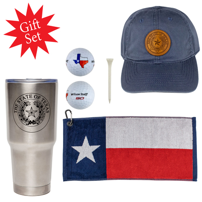 Texas Pride Golf Gift Set