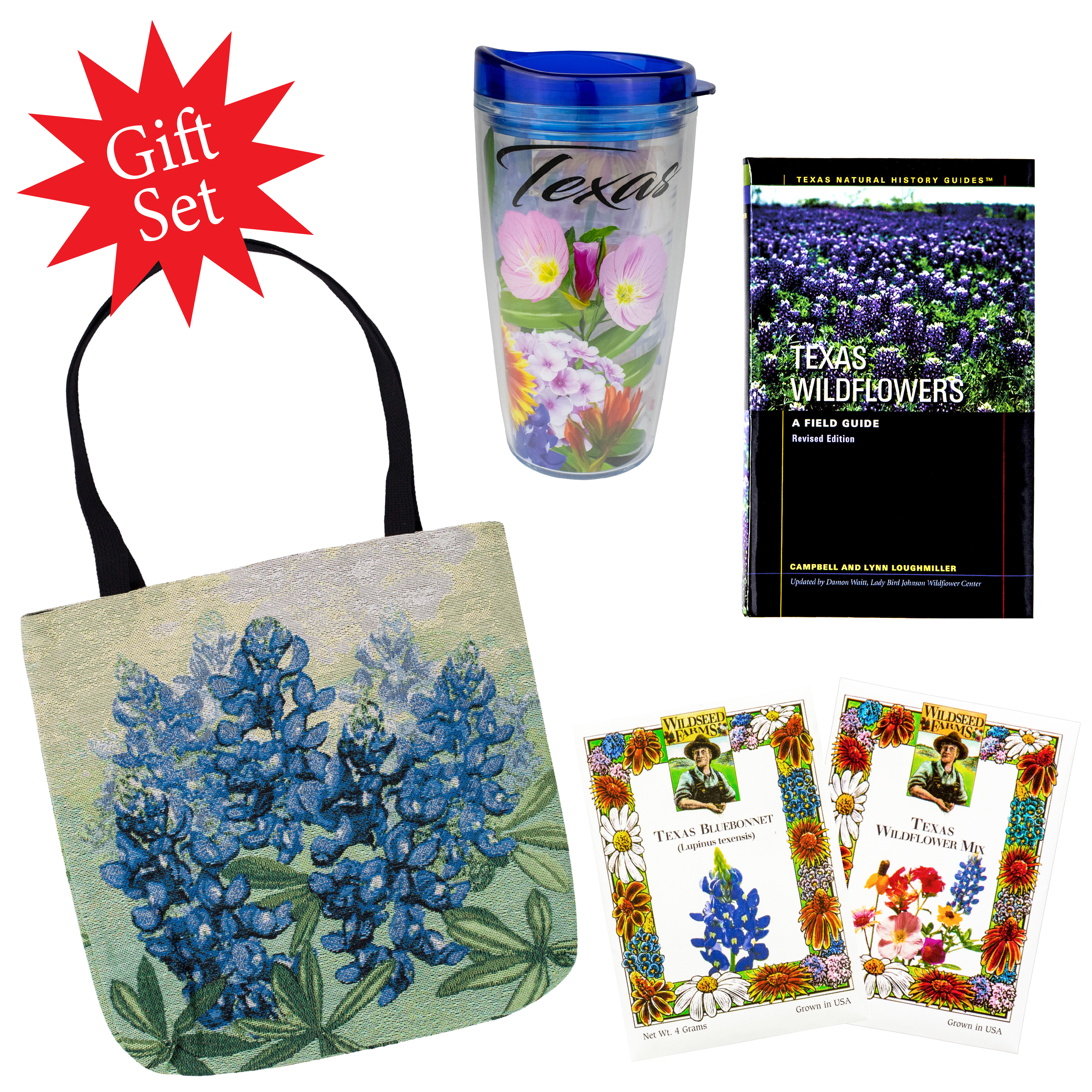 Outdoor Bluebonnet Gift Set