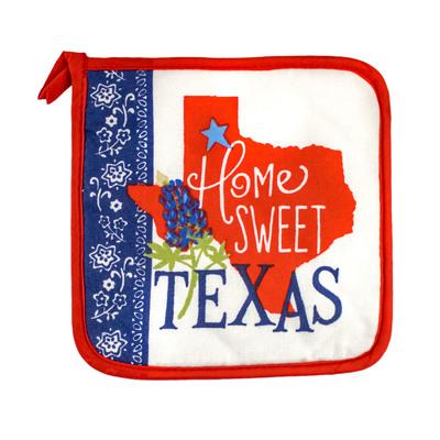 Home Sweet Texas Pot Holder