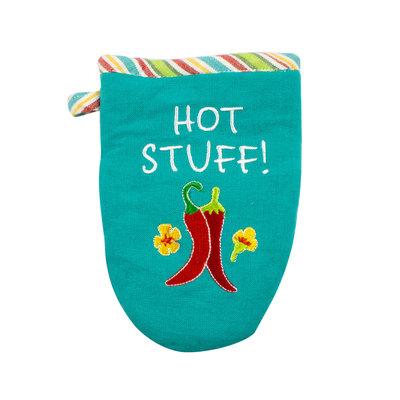 Hot Stuff! Cotton Oven Mitt