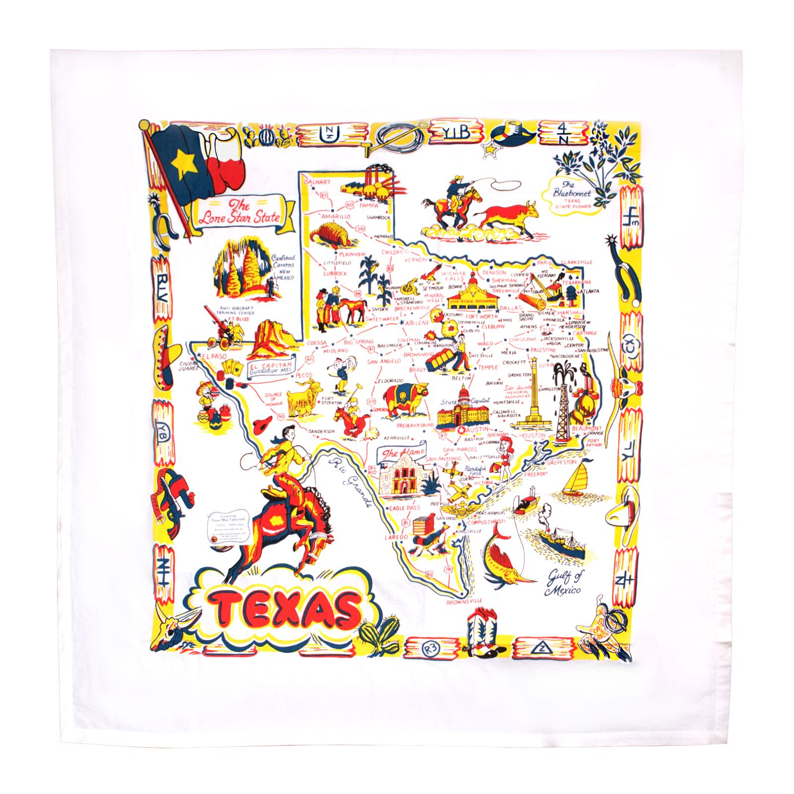 Texas Tablecloth
