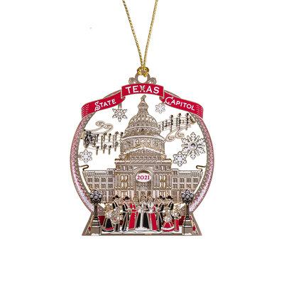 2021 Texas Capitol Ornament
