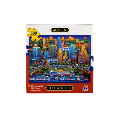 Austin Skyline 500 Piece Puzzle