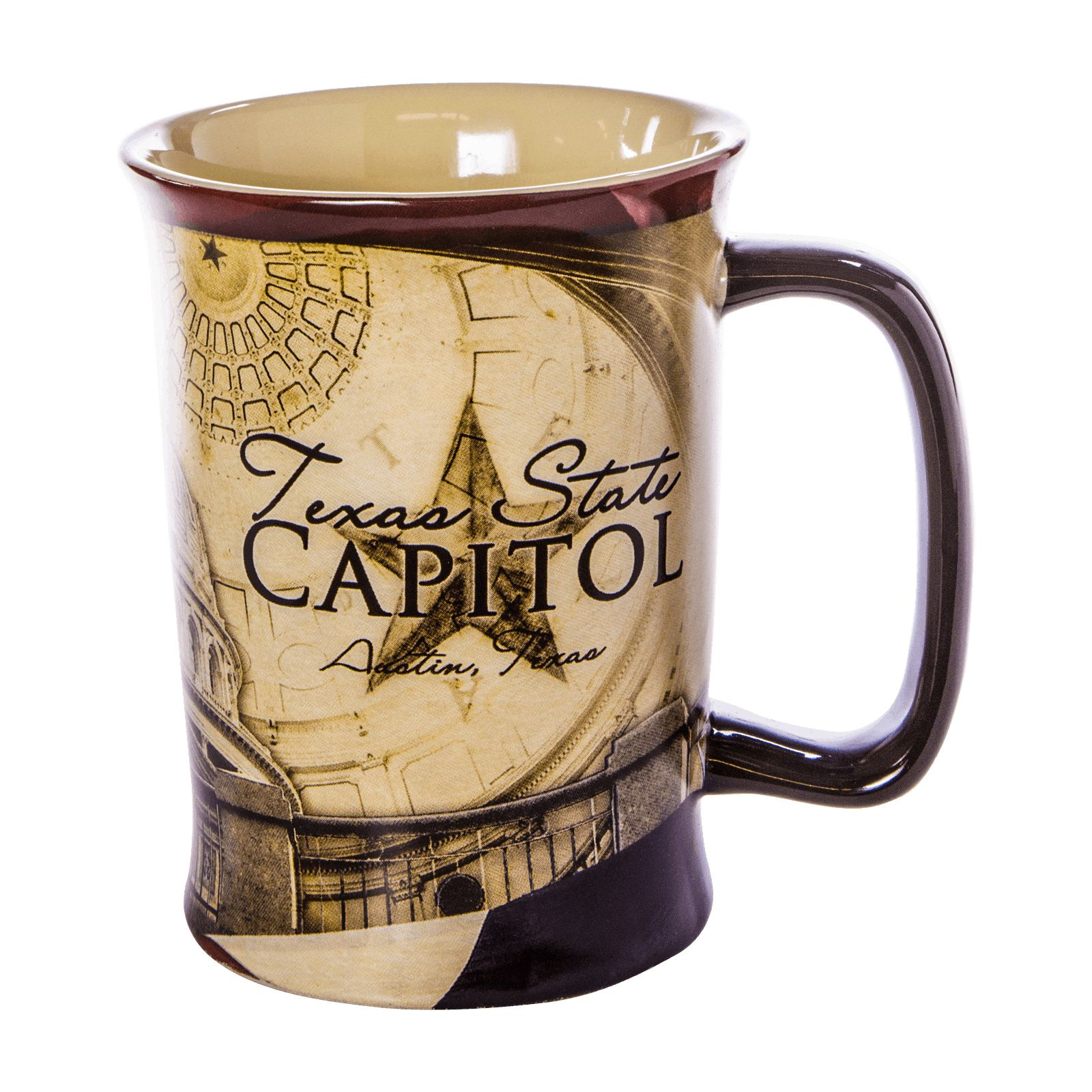 Texas Capitol Collage Ceramic Mug
