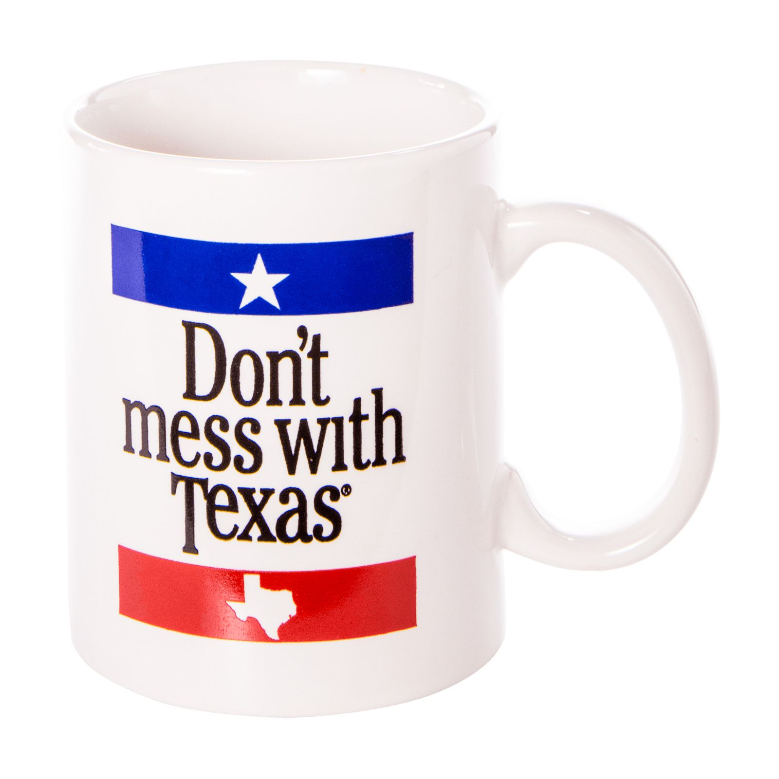 Don't Mess with Texas Ceramic Mug