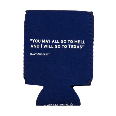 Crockett Quote Koozie