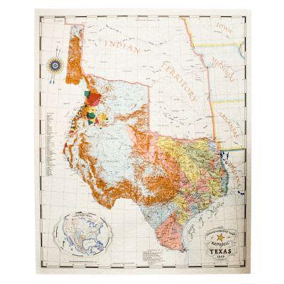 John Davis Map 1845 Print