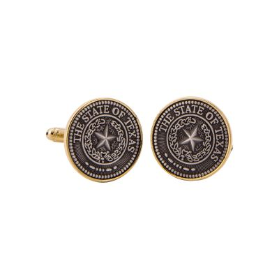 State Seal Cuff Links