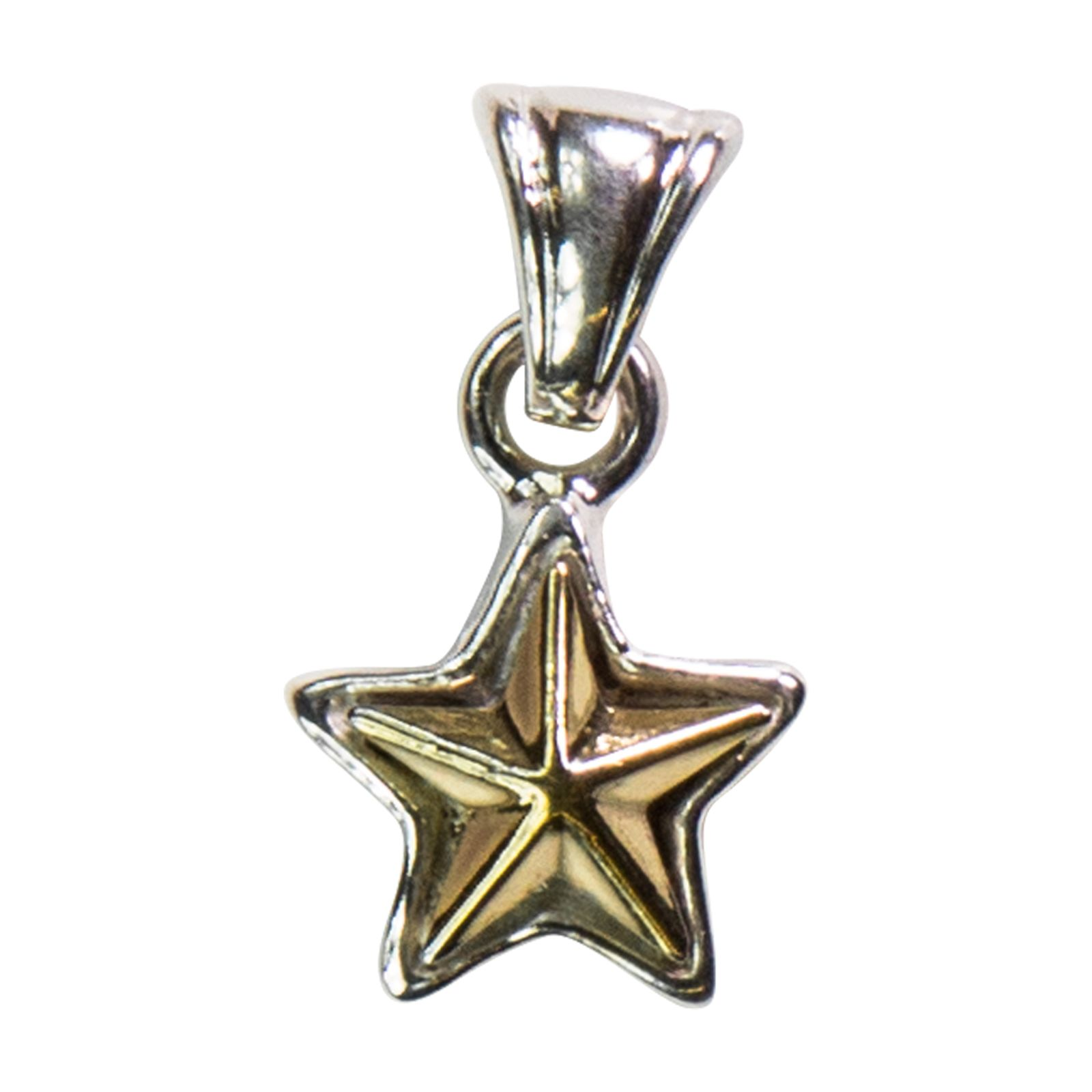 Sterling Silver Texas Star Pendant
