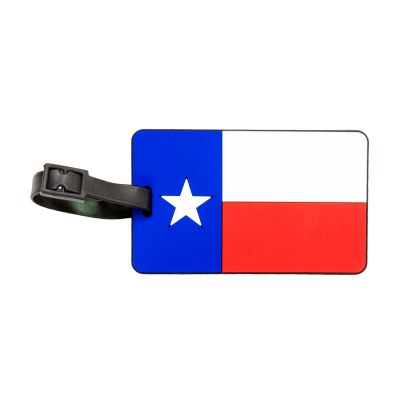 Texas State Flag Luggage Tag