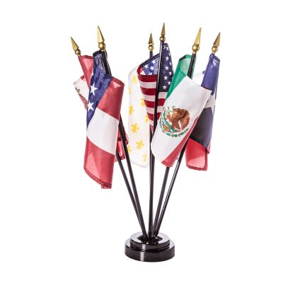 Six Flags Over Texas Desk Set