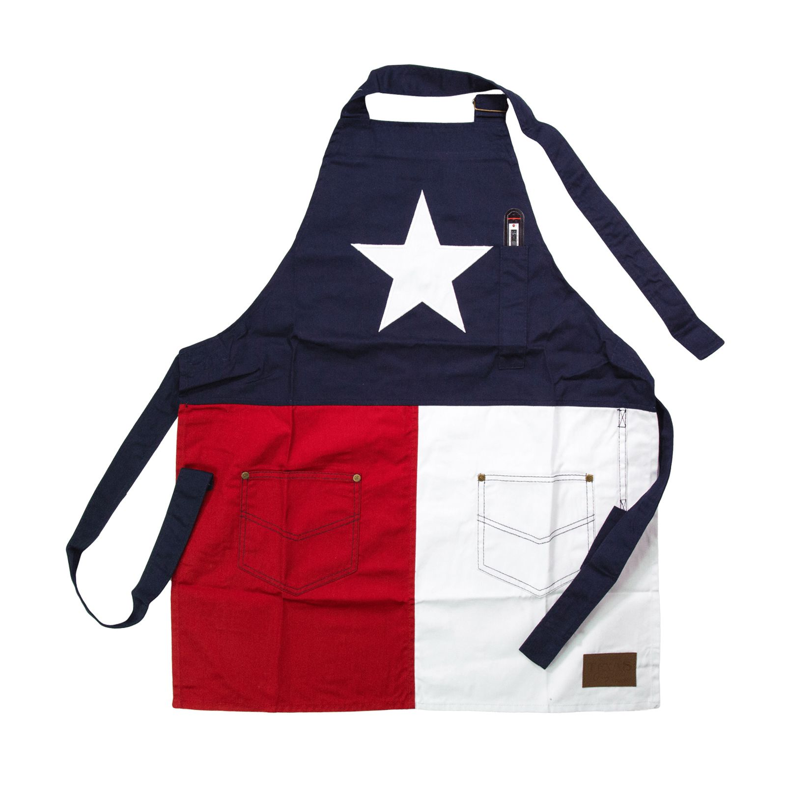 Texas State Flag Men's Apron