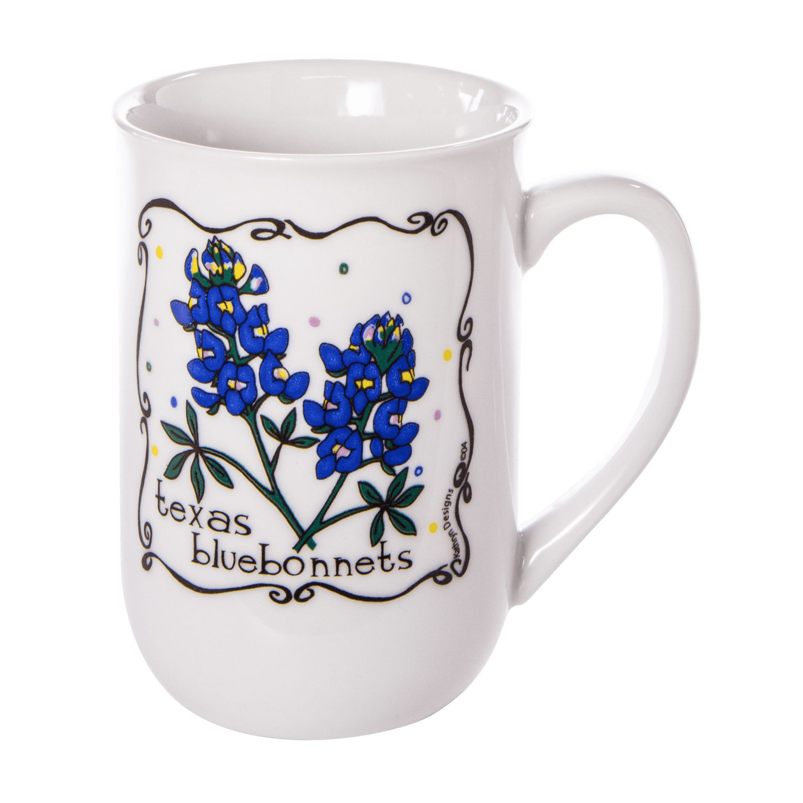 Texas Bluebonnet Ceramic Mug