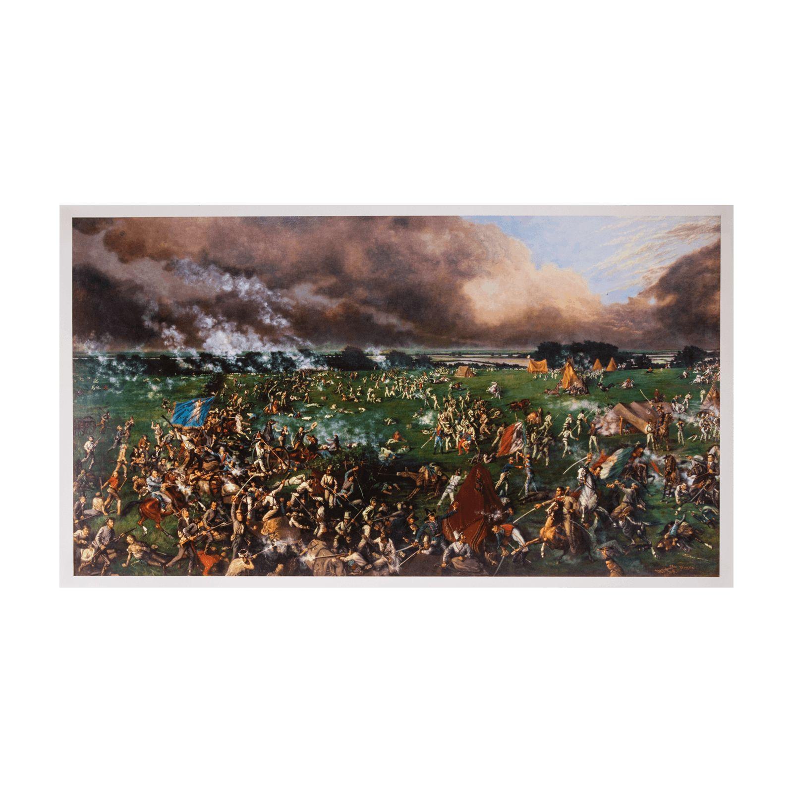 Battle Of San Jacinto Print