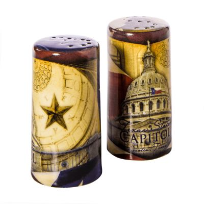 Capitol Collage Salt and Pepper Shakers