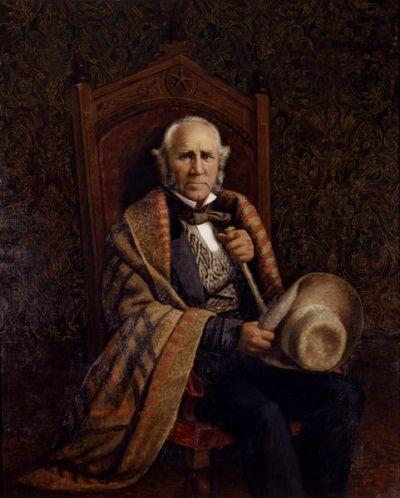 William Henry Huddle Sam Houston, 1886