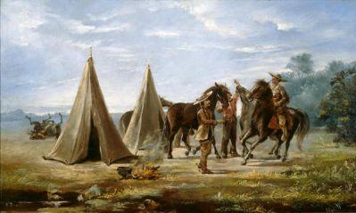 Louis Eyth Ranger Encampment, c. 1880