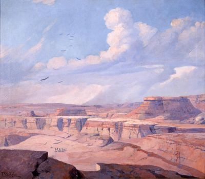Franz Strahalm Palo Duro Canyon, c. 1920