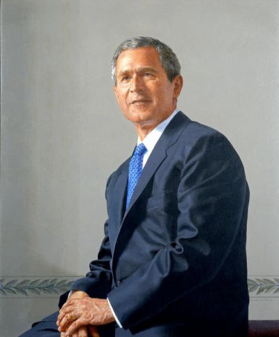 Scott Gentling George W. Bush, 2001