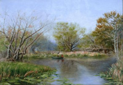 Rolla Sims Taylor Headwaters on the San Antonio River, 1902