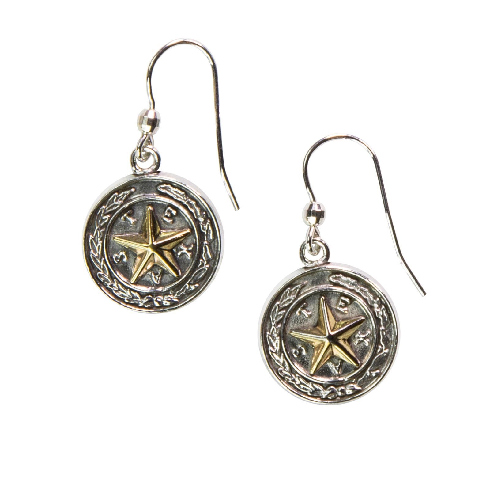 Capitol Chandelier Motif Sterling Silver Earrings
