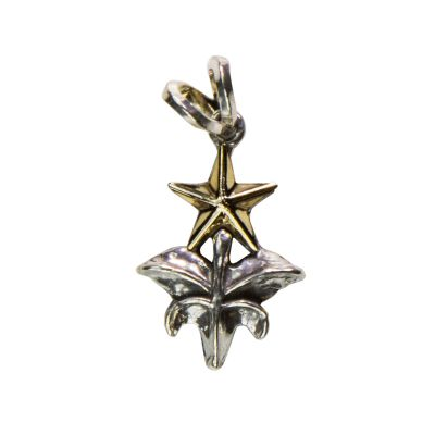 Texas Capitol Fence Finial Sterling Silver Pendant