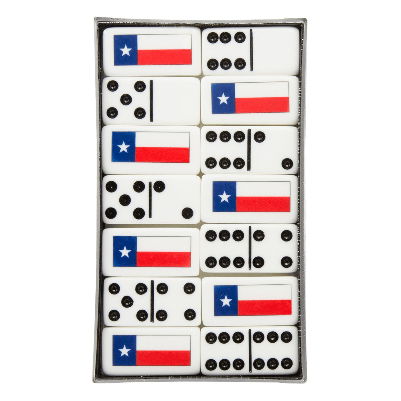 Texas State Flag Dominos