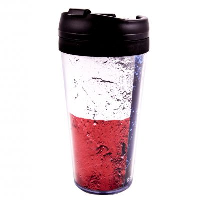 Weathered Texas Flag Travel Mug