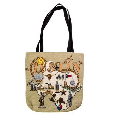 Austin Icon Tote Bag