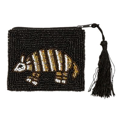 Beaded Armadillo Purse