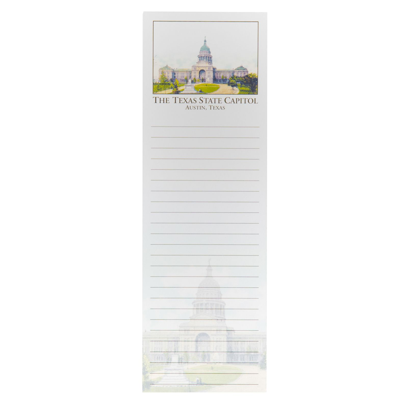 Texas Capitol Magnetic Notepad