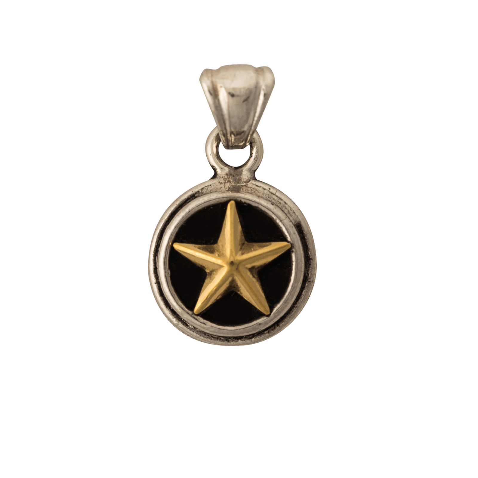 Sterling Silver Lone Star Pendant