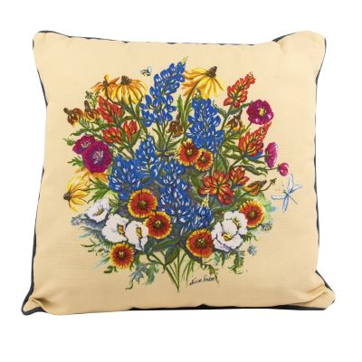 Texas Wildflower Pillow