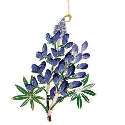 Bluebonnet Wildflower Ornament