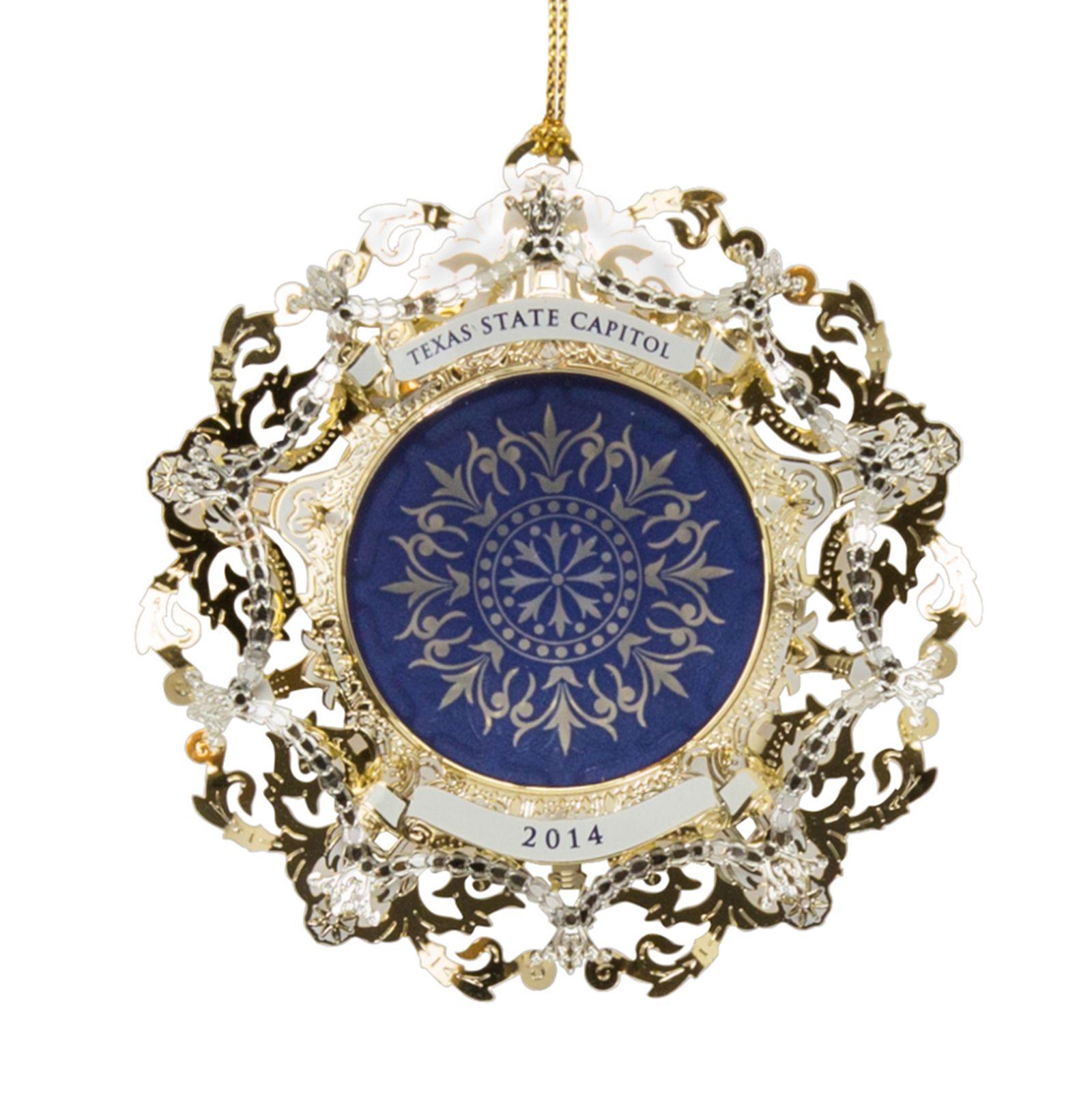 2014 Capitol Ornament   Texas Capitol Gift Shop