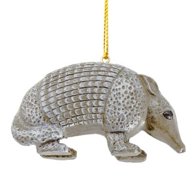 Armadillo Resin Ornament