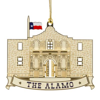 Alamo Ornament